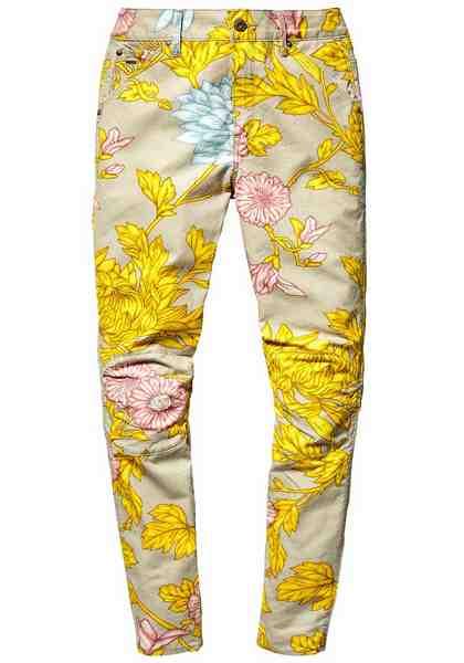 G-Star Boyfriend-Jeans »Elwood 5622 3D, mid boyfried COJ«, mit Blumen-Alloverdruck