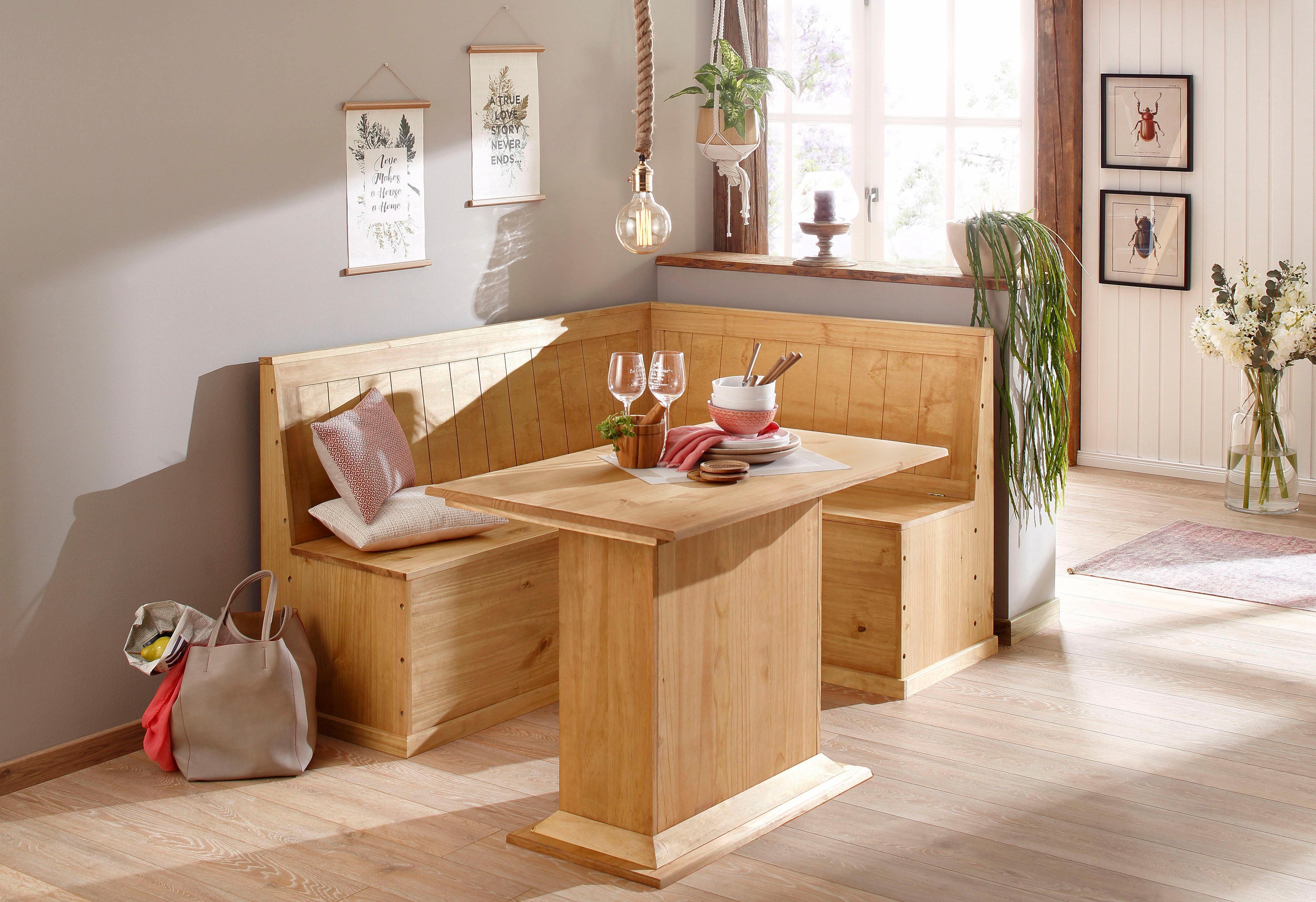 Home affaire Essgruppe »Sara«, bestehend aus Eckbank und Tisch online kaufen | OTTO