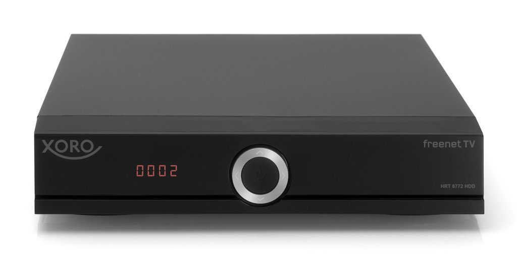 XORO DVB-T2-TWIN-Receiver freenet TV PVR-ready »HRT 8772 HDD«