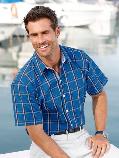 Roger Kent Hemd mit garngefärbtem Karomuster