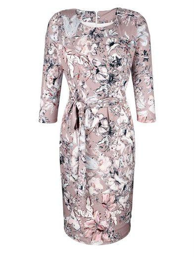 Amy Vermont Jerseykleid in floralem Druck