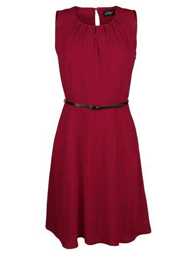 Amy Vermont Kleid mit Taillengürtel