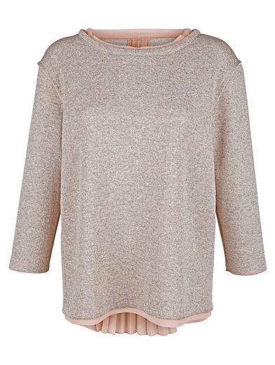 Amy Vermont Sweatshirt mit metallisiertem Garn