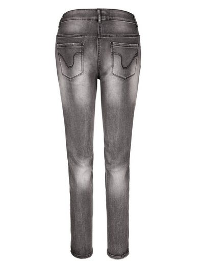 Amy Vermont Jeans With Metal-flake Decoration