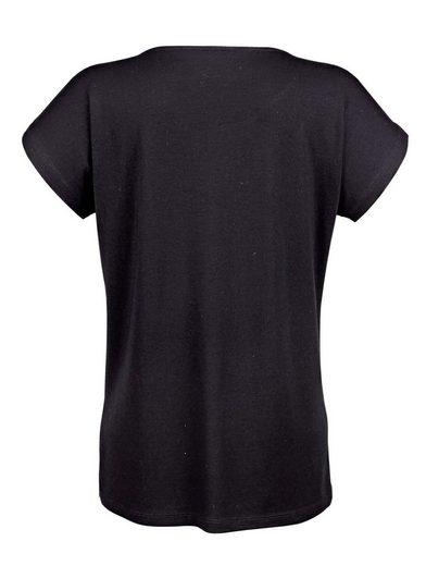 Amy Vermont Shirt mit Paillettendekoration