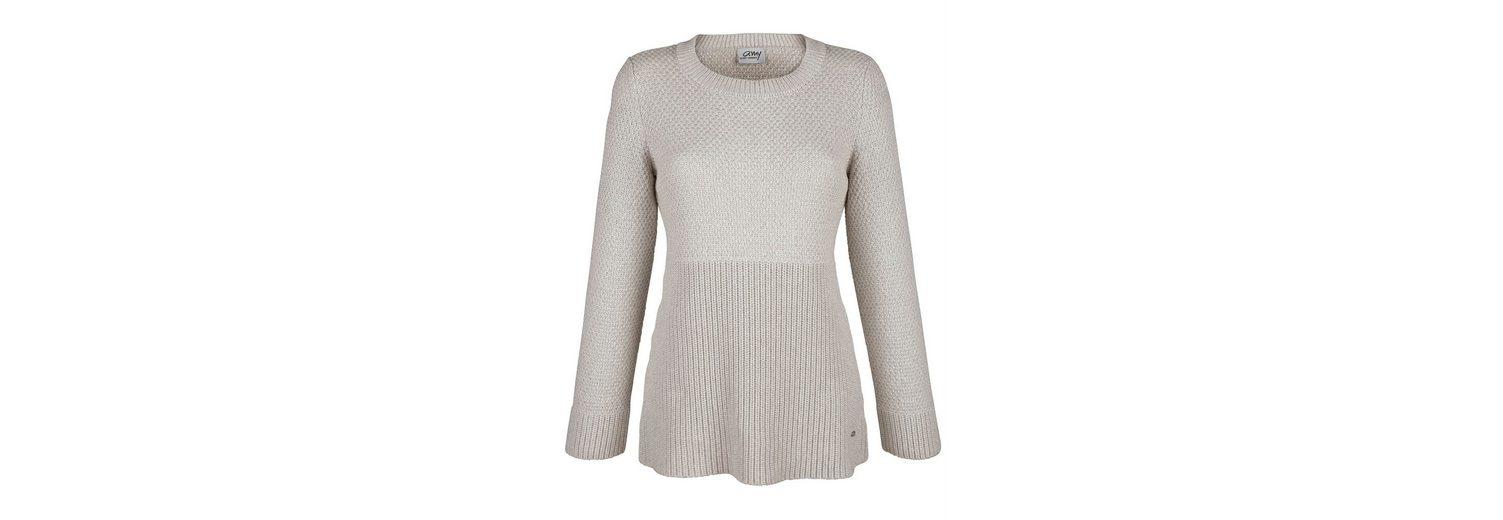 Amy Vermont Pullover in verschiedenen Strickoptiken Günstig Kaufen Komfortable Online-Verkauf Aussicht 81b7pZ1s