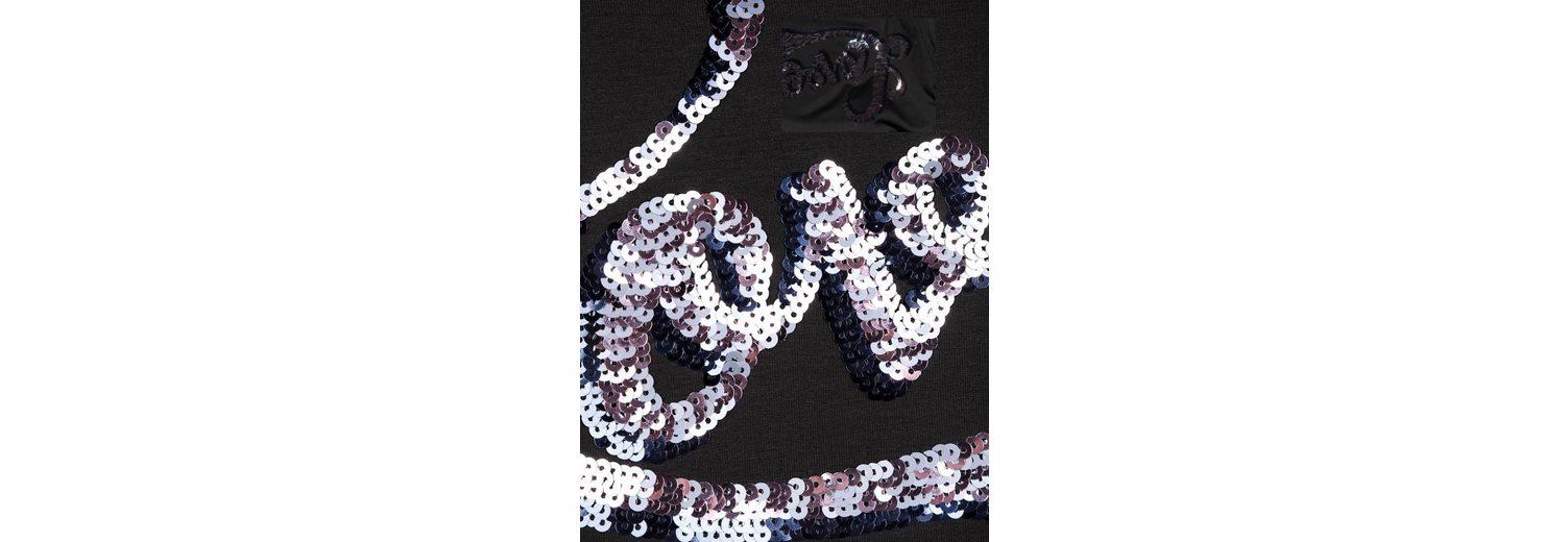 Paillettenschriftzug Amy Vermont Shirt Amy Vermont mit wUXqWOwnr