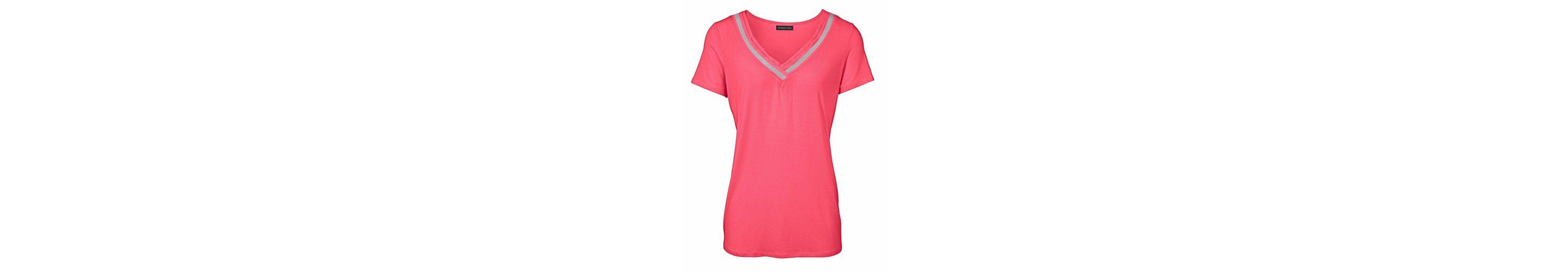 PATRIZIA DINI by Heine V-Shirt mit Applikationen Billig Verkauf Neueste Billig Verkauf 100% Original Erstaunlicher Preis Zu Verkaufen GcRQKvgGw7