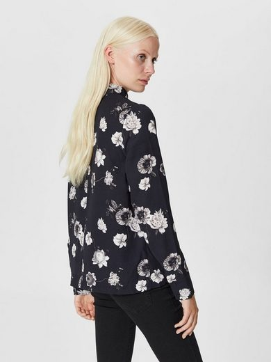 Selected Femme Blumenprint- Bodice With Long Sleeves