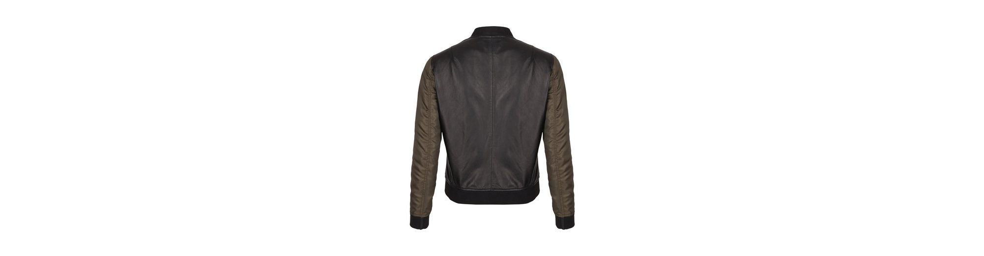 Verkauf Online-Shopping Daniel Hechter Blouson aus Leder Günstig Kaufen Erschwinglich xzF8a5Do