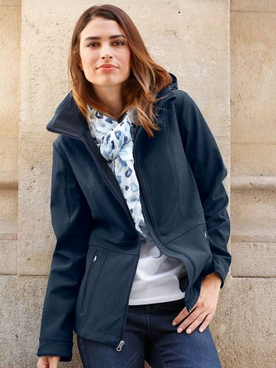 Paola Softshell Jacket With Detachable Hood
