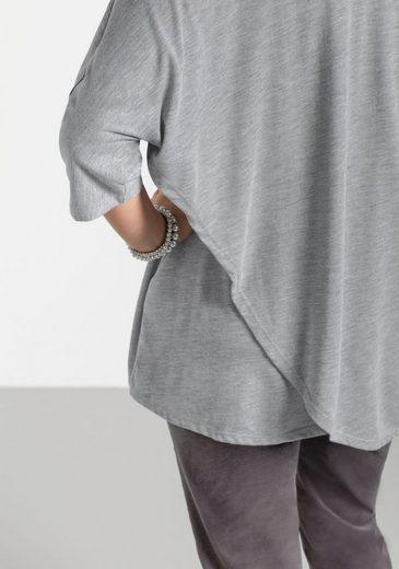 sheeGOTit Oversize-Shirt, in Wickeloptik