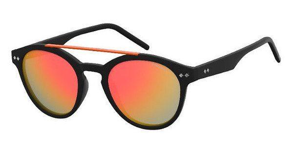 Polaroid Sonnenbrille » PLD 6030/S«, schwarz, 003/OZ - schwarz/rot