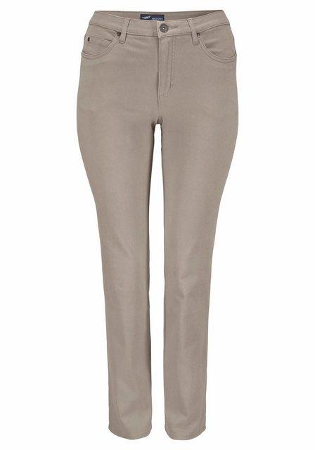 Hosen - Arizona Gerade Jeans »Comfort Fit« High Waist › braun  - Onlineshop OTTO