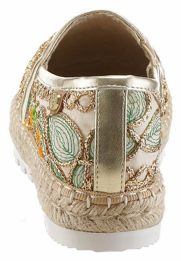 Tom Tailor Espadrille, With Oriental Ornaments