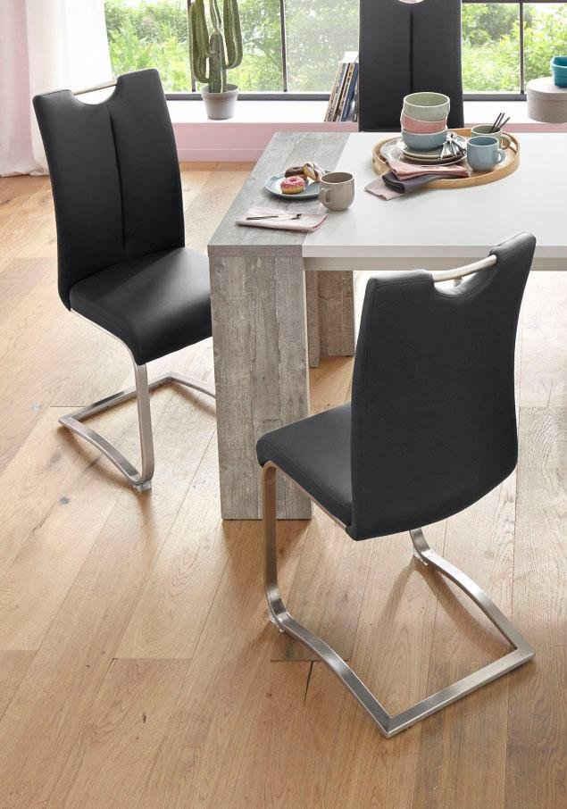 MCA furniture Freischwinger »Artos« (Set, 2 Stück), Stuhl bis 140 Kg belastbar
