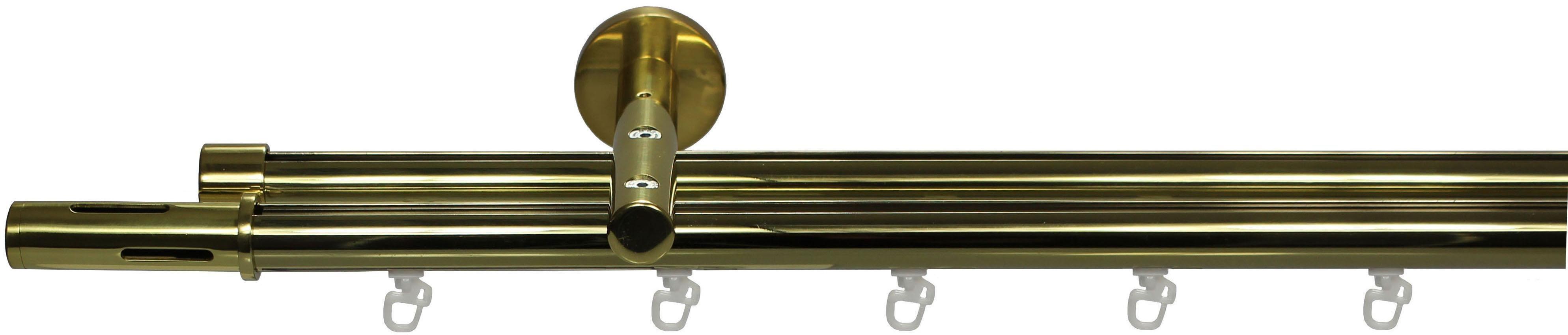 Gardinenstange, Garesa, »Cedrino«, 1- oder 2-läufig nach Maß, ø 20 mm | Heimtextilien > Gardinen und Vorhänge > Gardinenstangen | Aluminium - Edelstahl - Metall | GARESA