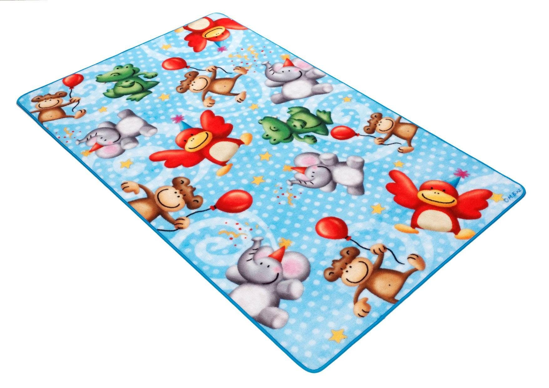 Kinderteppich »Lovely Kids LK-4«, Böing Carpet, rechteckig, Höhe 2 mm, rutschhemmend beschichtet