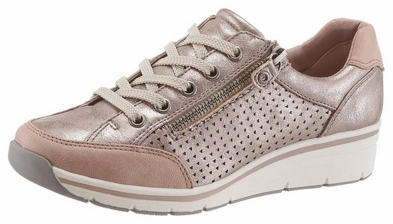 Supremo Sneaker, in trendiger Metallic-Optik