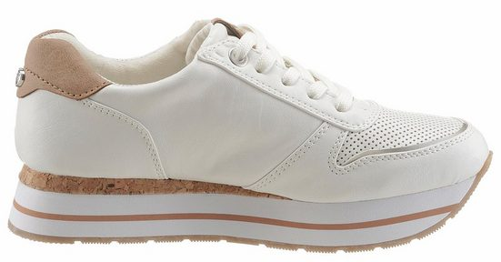 Tom Tailor Sneaker, With Summer Perforation