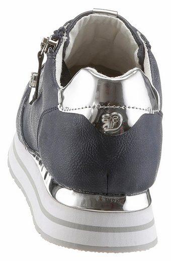 Tom Tailor Sneaker, mit coolem Zierreißverschluss