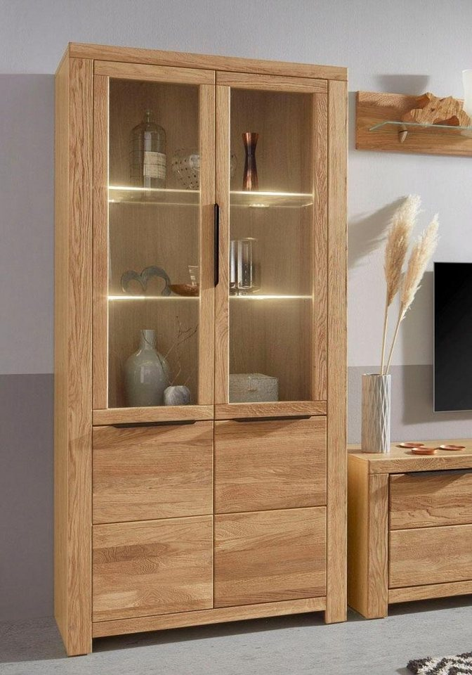 vitrine aalborg h he 200 cm online kaufen otto. Black Bedroom Furniture Sets. Home Design Ideas