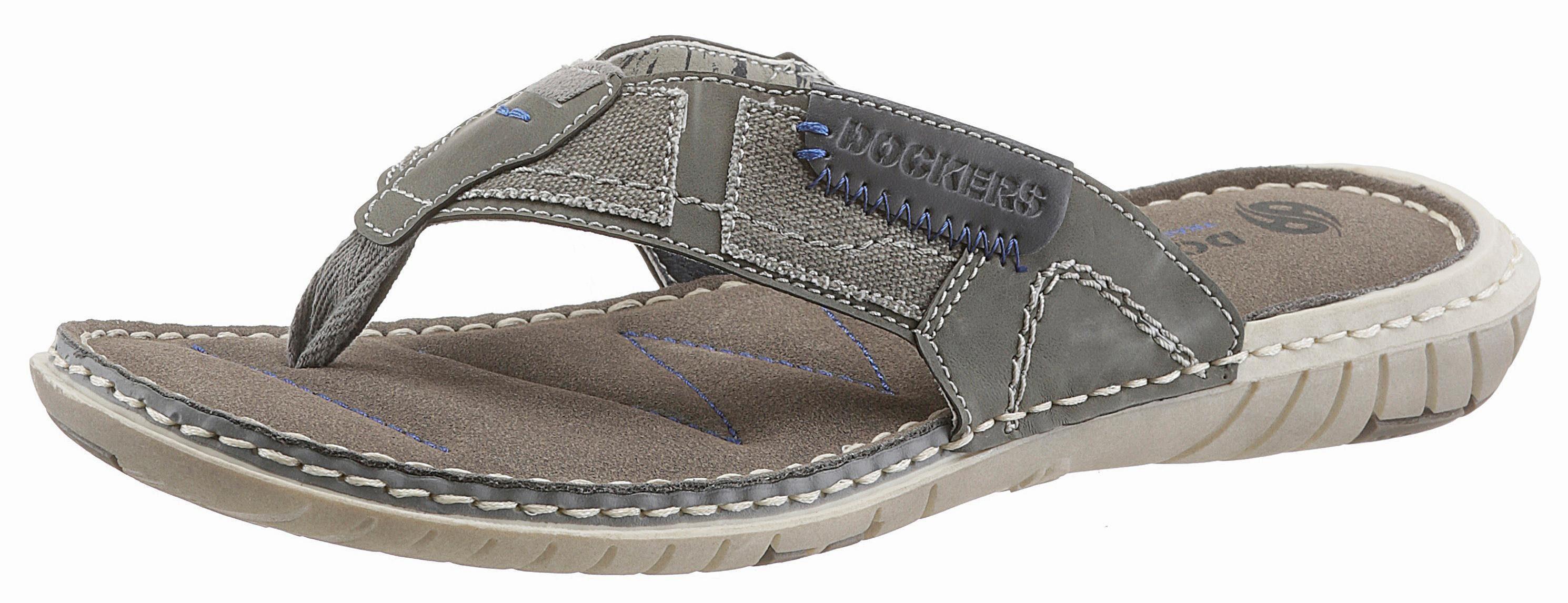 Dockers by Gerli Zehentrenner, mit hellen Ziernähten online kaufen  grau