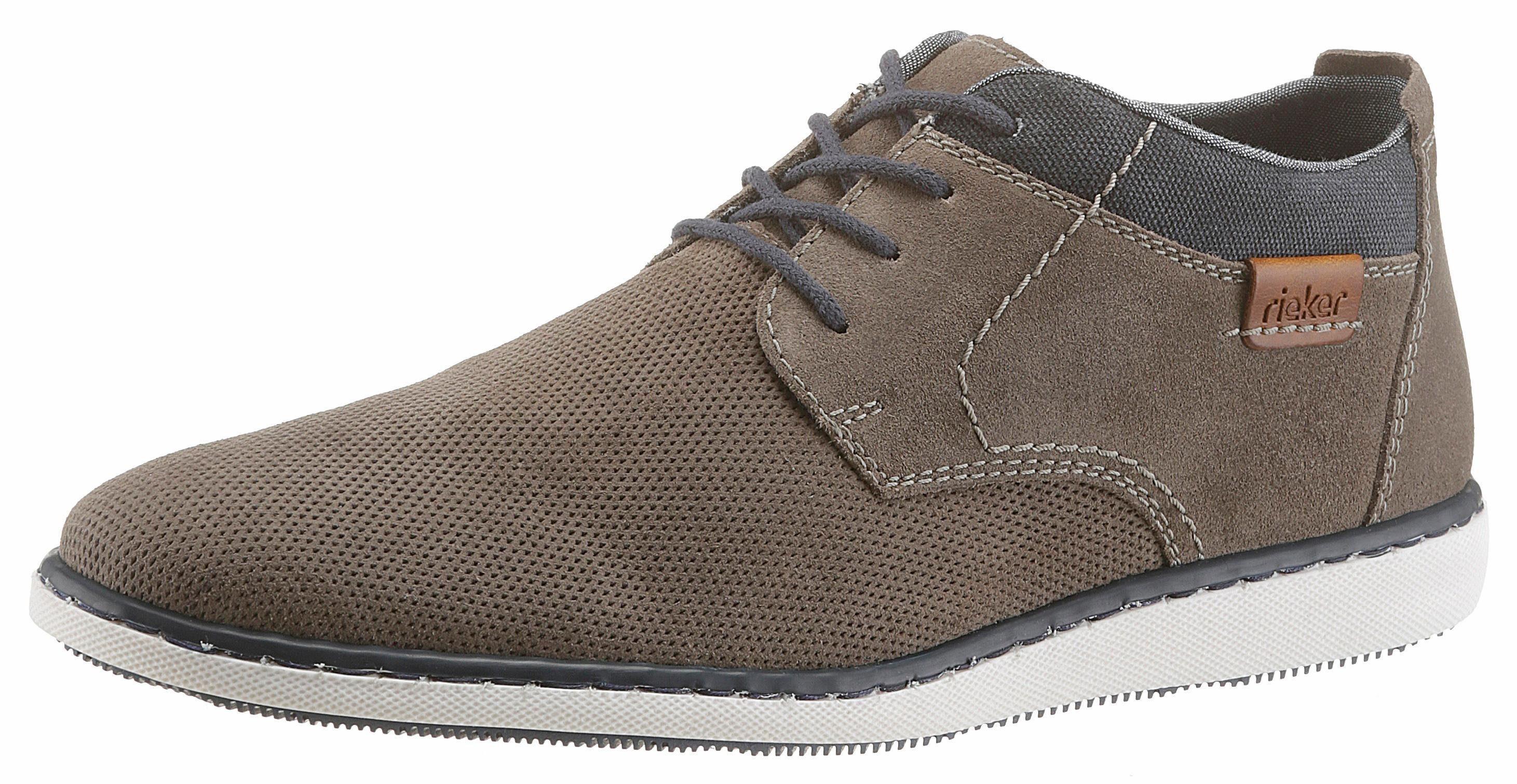 Rieker Sneaker, mit modischer Perforation kaufen  grau-blau