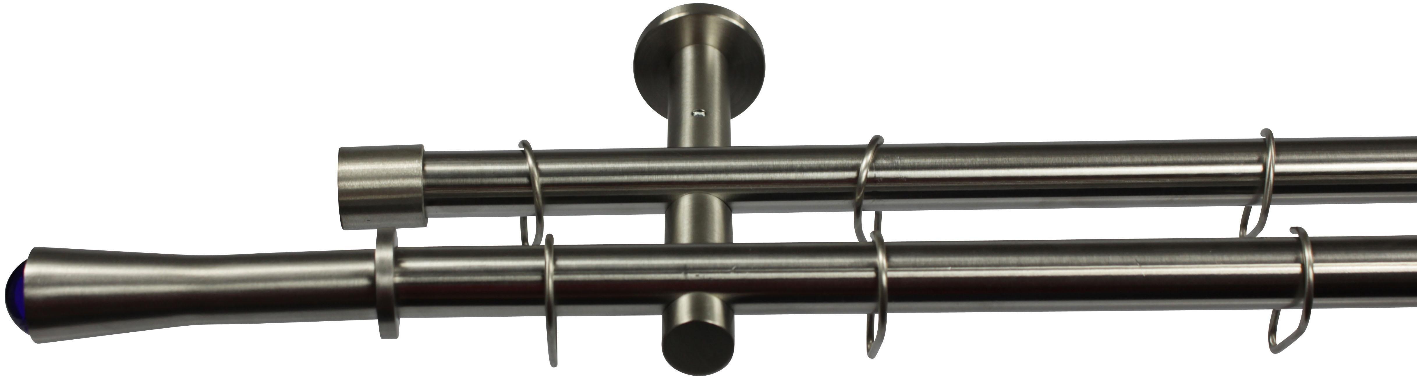 Gardinenstange, Garesa, »Silaro«, 1- oder 2-läufig nach Maß, ø 16mm | Heimtextilien > Gardinen und Vorhänge > Gardinenstangen | GARESA