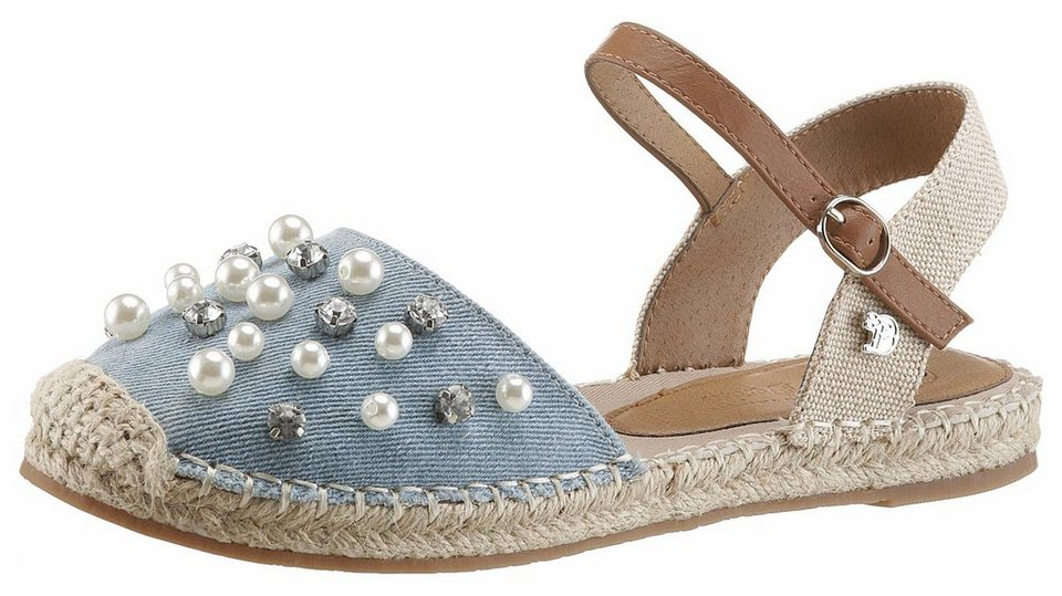 the best attitude 90e9d 39de5 TOM TAILOR Espadrille mit angesagter Perlen- und Schmuckverzierung online  kaufen | OTTO