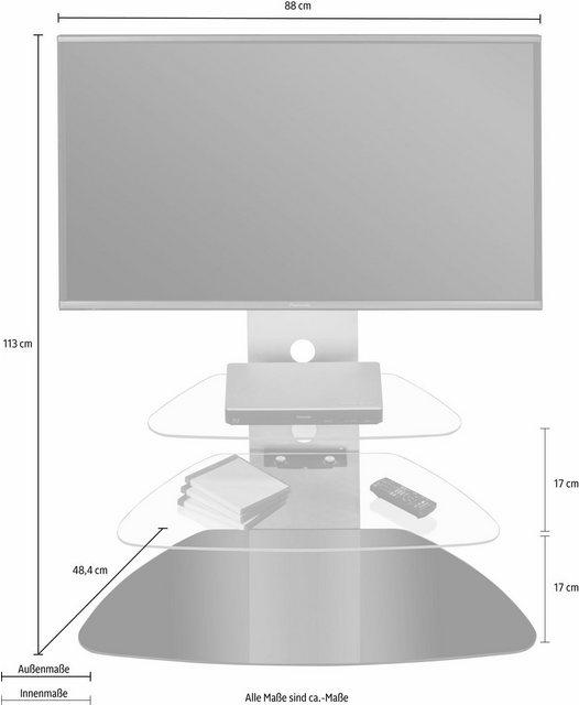 TV Möbel - MAJA »TV Rack 1619« TV Rack, Breite 88 cm  - Onlineshop OTTO