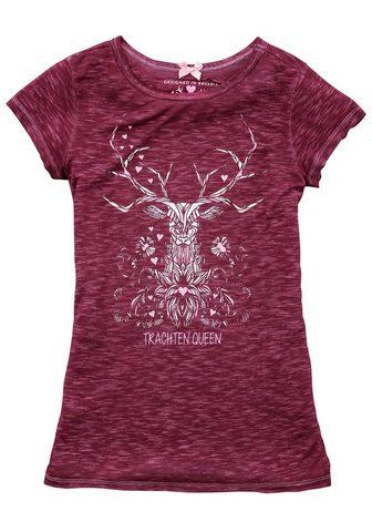 HANGOWEAR Marškinėliai Moterims su Hirschdruck