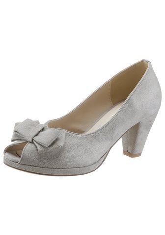 Туфли с декоративный бант