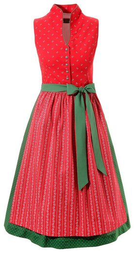 Love Nature Dirndl midi in frischer Farbkombination