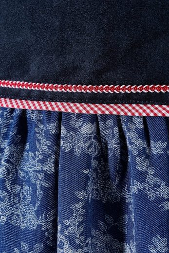 OS-Trachten Trachtenrock Damen in Falten gelegt