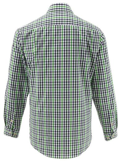 Almsach Trachtenhemd im Karo-Dessin