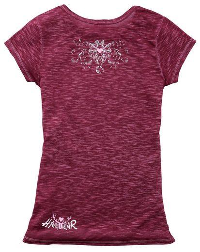 Hangowear Trachtenshirt Damen mit Hirschdruck