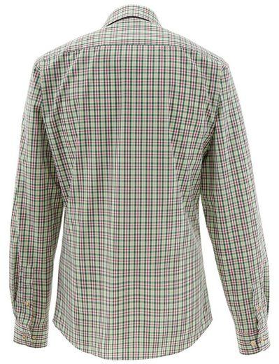 Almsach Trachtenhemd mit kleiner Hirschstickerei