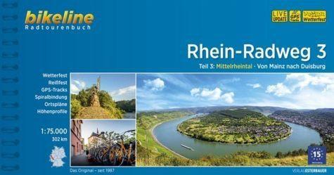 Broschiertes Buch »Bikeline Radtourenbuch Rhein-Radweg 03«