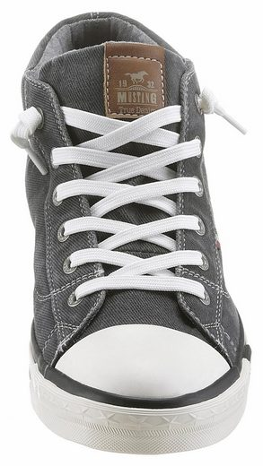 Mustang Shoes Sneaker, With Logo Embossing