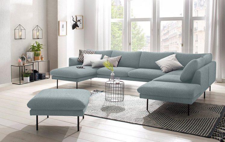 andas Wohnlandschaft »Mavis«, mit losen Sitz- und Rückenkissen, skandinavischer Stil