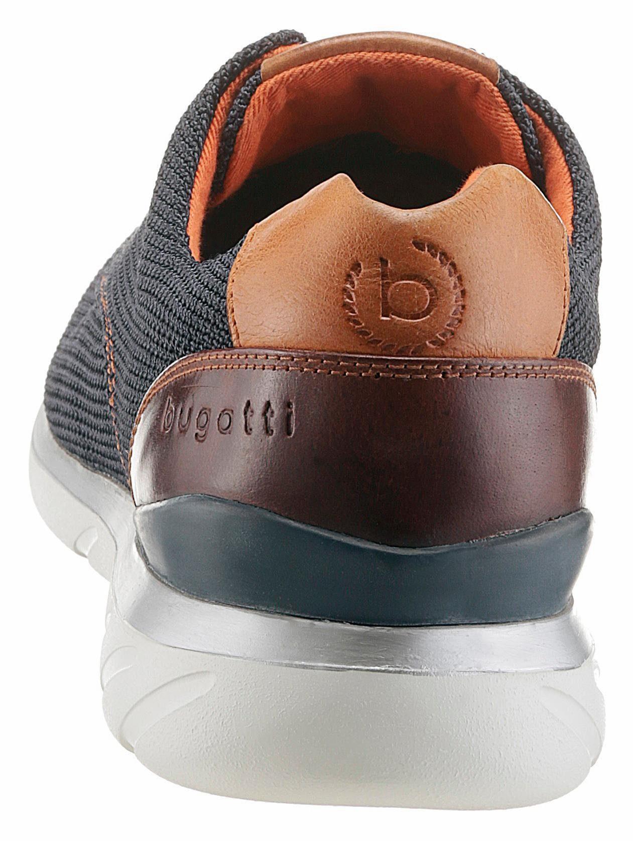 Bugatti Sneaker, mit bequemer Soft-Fit Funktion  navy