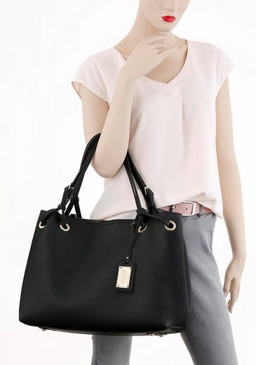 Buffalo Mit Shopper tasche Abnehmen Reißverschluss Kleiner Zum w8ZRvqp