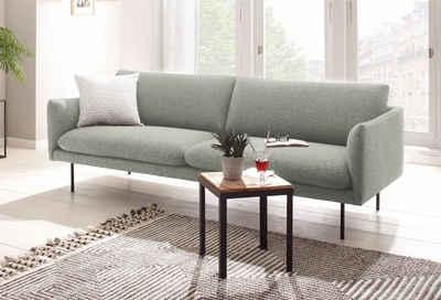 andas 3-Sitzer »Mavis«, mit losen Sitz- und Rückenkissen, skandinavischer Stil