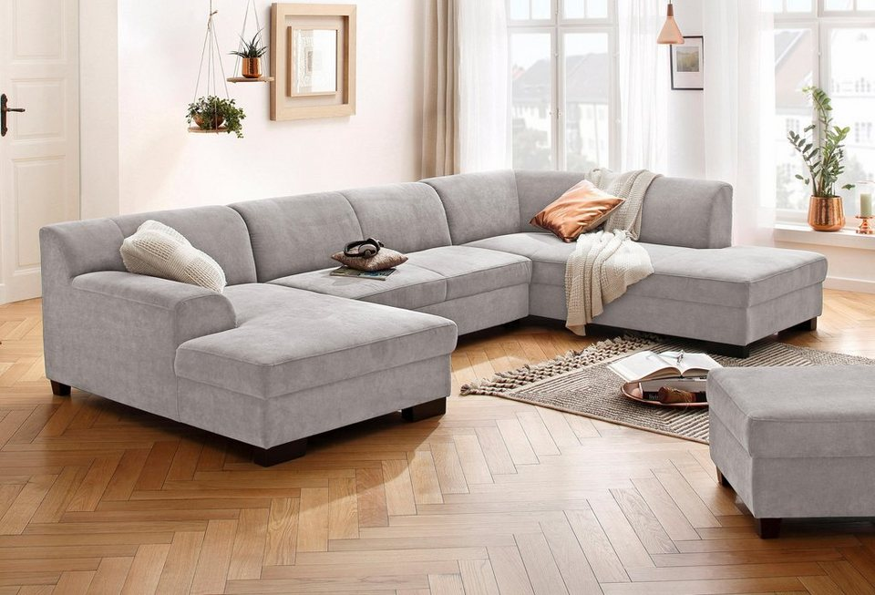 Home Affaire Wohnlandschaft Wanda Wahlweise Mit Bettfunktion In 4