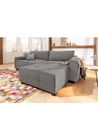 HOME AFFAIRE Kampinė sofa »Bella«