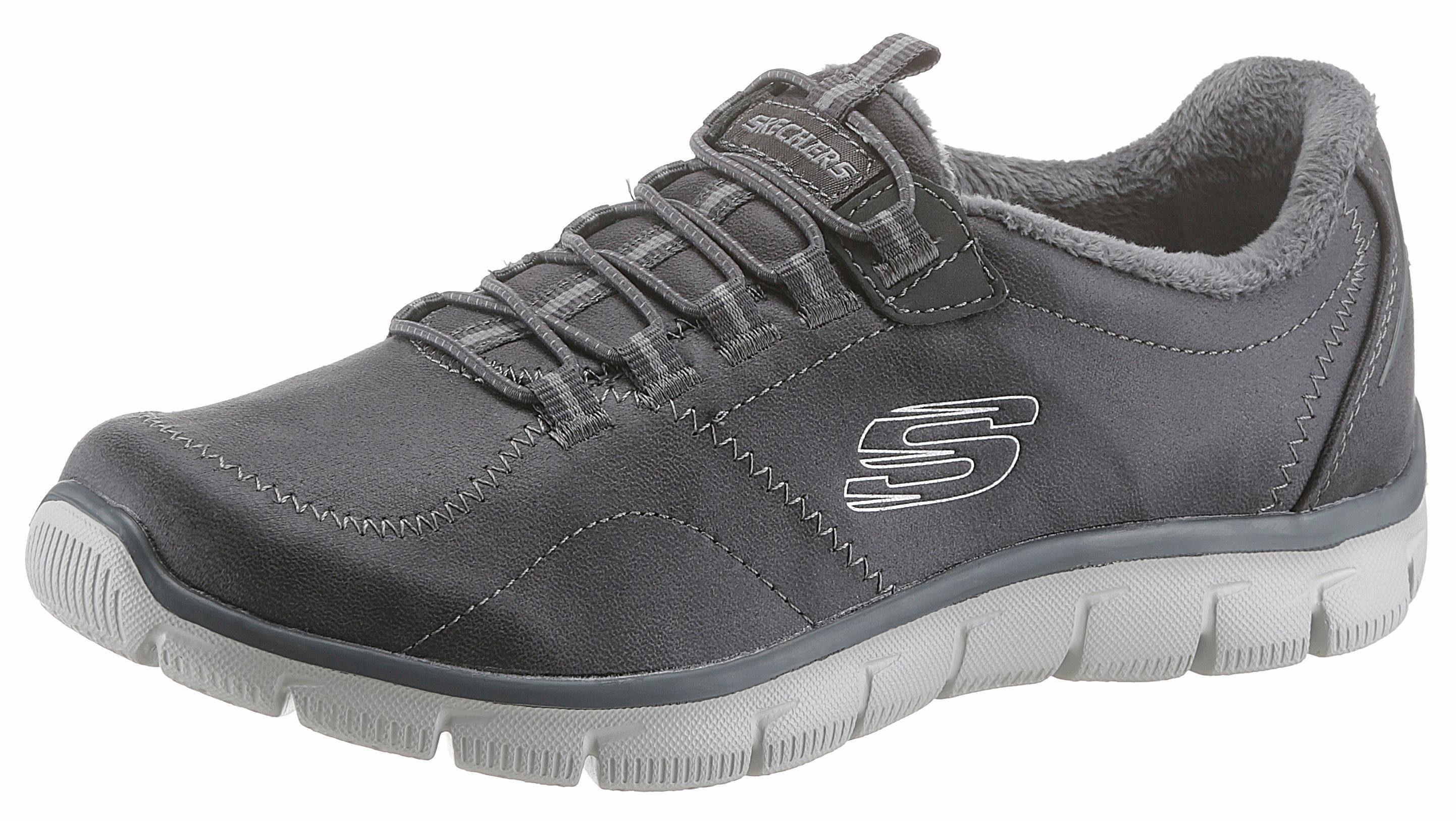 Skechers »Empire-Latest News« Slipper, mit Relaxed Fit-Ausstattung, grau, 40 40