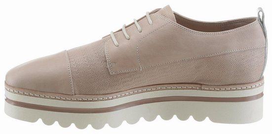 Chaussure À Lacets Marc Opolo, Avec Semelle Plateforme