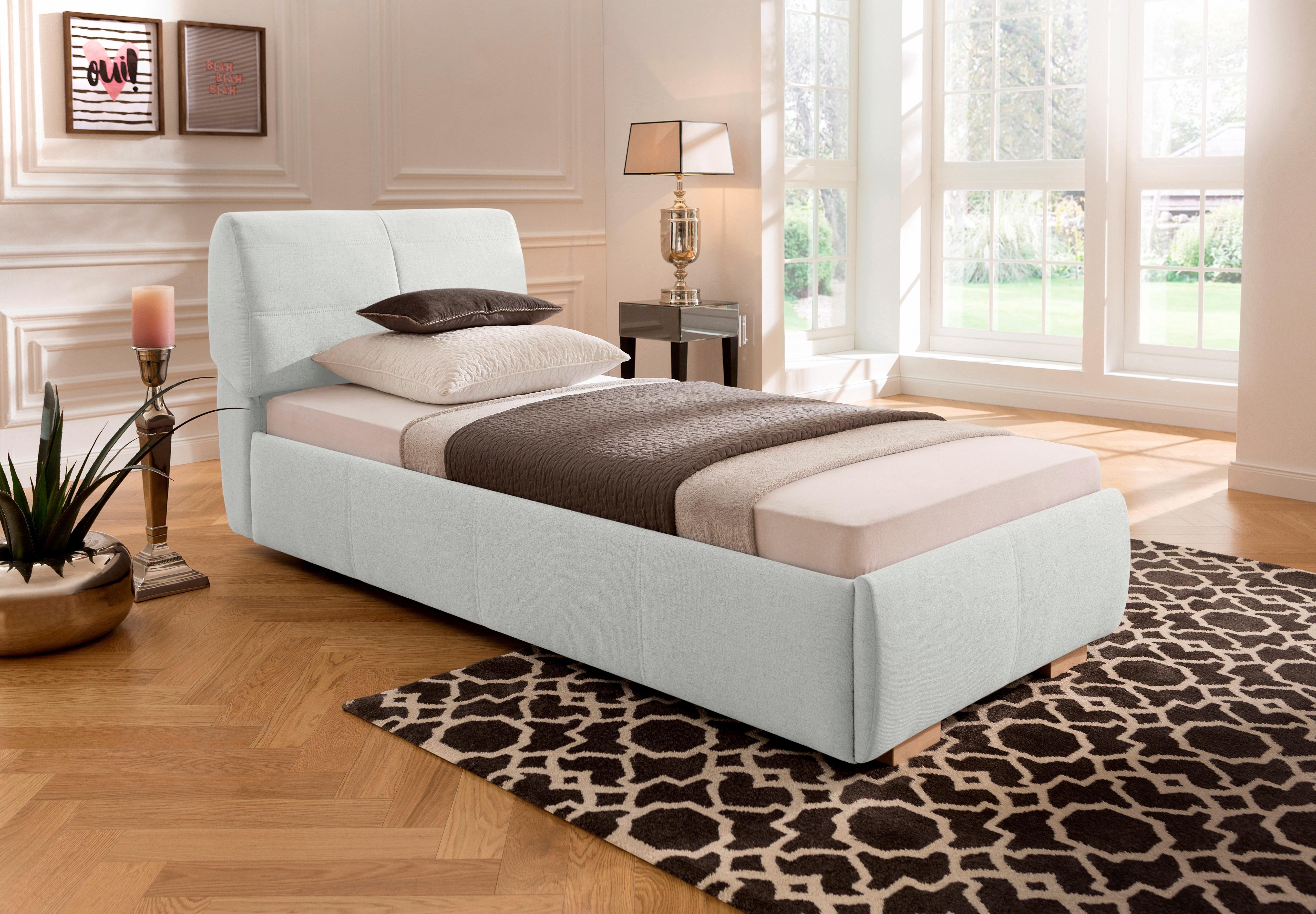 50 sparen home affaire polsterbett solaris nur 349 99. Black Bedroom Furniture Sets. Home Design Ideas