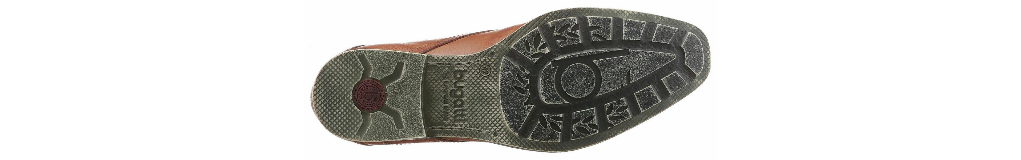 Bugatti Schnürschuh, mit modernen Mustern